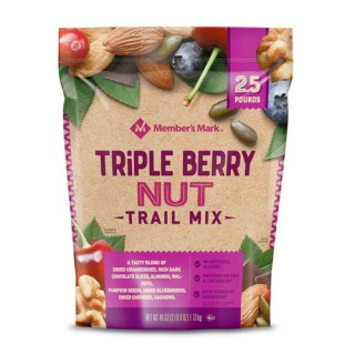 Hạt hỗn hợp Triple Berry Nut Trail Mix (1.13kg)